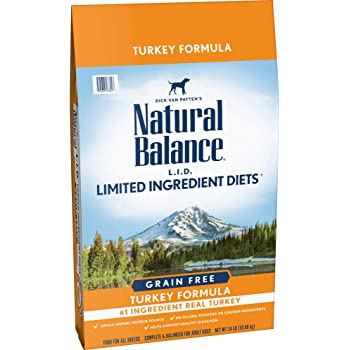 Natural Balance L.I.D. Limited Ingredient Diets High Protein Dry Dog Food, Grain Free