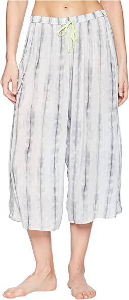 Donna Karan Printed Crop Pants