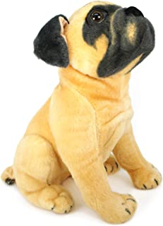 VIAHART Pippen The Pug | 15 Inch Large Dog Stuffed Animal Plush Dog | by Tiger Tale Toys