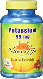 Nature's Life Potassium, 99 mg | 250 ct