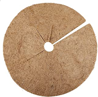 GUOfeudallord Coconut Fiber Covering Ring Tree Protection Mat, 100% Natural Cocoa Coconut Tree Protection, Tree Ring Mat Indoor or Outdoor Tree Disc Plant Cover