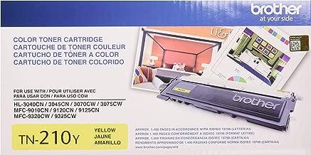 Brother Genuine TN210Y Color Laser Yellow Toner Cartridge