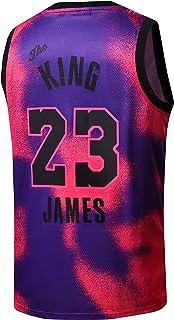 Men's The King #23 Basketball Pink Jersey S-2XL Shirt