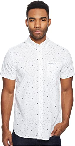 Short Sleeve Park Conversational Shirt