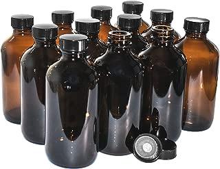 Best amber bottles glass Reviews