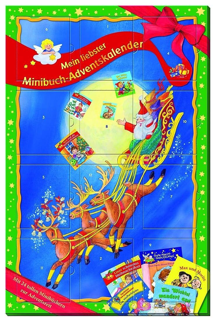 ベアリングサークルアナログボクシングMini-Buch-Adventskalender: Adventskalender mit 24 verschiedenen Mini-Buechern. Je 12 Tuerchen auf Vorder- und Rueckseite