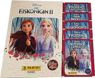 Unbekannt Panini Die Eisk/önigin 2 Frozen 2 Sticker /& Cards 10 Stickert/üten