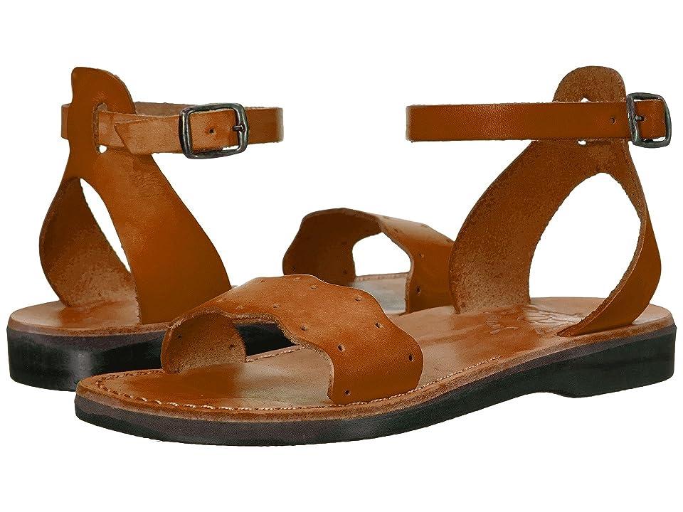 Jerusalem Sandals Dinah Womens (Honey) Women