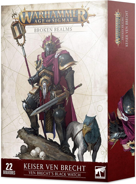 Atlanta Mall Games Workshop Warhammer Max 56% OFF Age of Sigmar Realms Ven Brecht' Broken