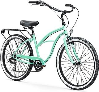 sixthreezero Around The Block Beach Cruiser Bicycle & eBike, 24