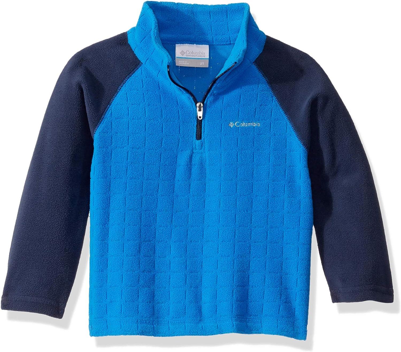 Columbia Boys' Glacialiii Fleece Printed Half Zip : Clothing, Shoes & Jewelry