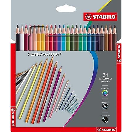 Astuccio da 12 ARTY STABILOaquacolor Colori assortiti Matita colorata acquarellabile