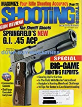 Shooting Times September 2004 Magazine GUN REVIEW: THE SHERIFF SHOOTS SPRINGFIELD'S NEW G.I. .45 ACP