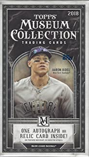 2018 Topps Museum Collection MLB Baseball MINI box (5 cards)