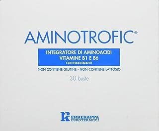 Errekappa Euroterapici SF5603063 Integratore Aminotrofic Aminoacidi Essenziali EAA e Vitamine B1 e B6, 30 Bustine da 5.5g