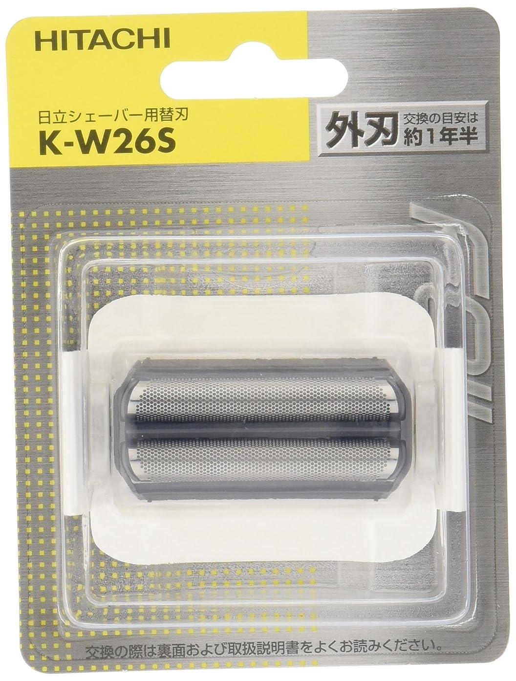苛性伝導率国籍日立 替刃 外刃 K-W26S
