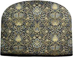 Blue Moon William Morris Victoria & Albert Holiday Indigo with Gold Details Double Insulated Tea Cozy Keeps Tea Warm for Hours Tea Cosy
