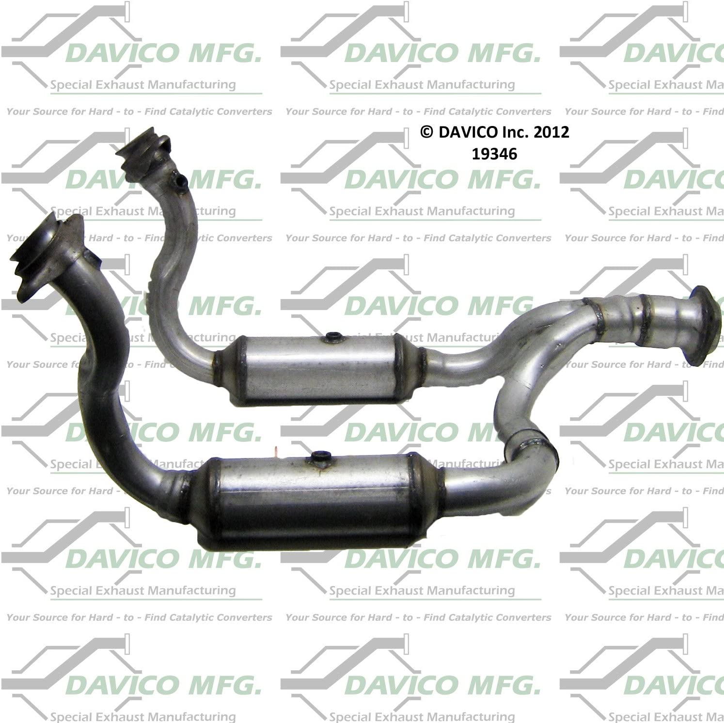 Davico Selling 19346 Catalytic 1 Converter Limited price Pack