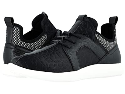Stacy Adams Briscoe Lace-Up Sneaker (Black) Men