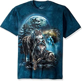 The Mountain Adult Unisex T-Shirt - Wolf Lookout