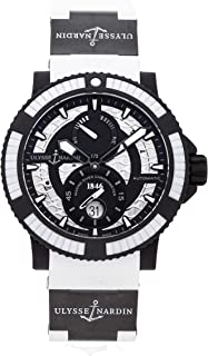 Ulysse Nardin Marine Mechanical (Automatic) Black Dial Mens Watch 263-92B0-3C/920 (Certified Pre-Owned)