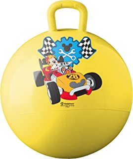 Hedstrom  Mickey Mouse Roadster Racers Hopper Ball, Hop Ball For Kids, 15 Inch