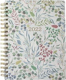 Fringe Studio 2022 Spiral Planner ، اوت 2021 - دسامبر 2022 ، 17 ماه ، جلد کاغذی ، اکالیپتوس آبی (844142)