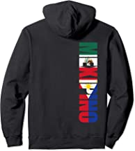 Mexipino Mexican Filipino American Heritage Vertical Shirt Pullover Hoodie