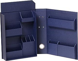 ナカバヤシ ライフスタイルツール 小物入れ 収納ボックス ファイルB5 ネイビー LST-FB5NV