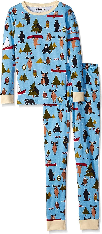 Set Little Blue House by Hatley Boys Short P.J Boys Book Bear Hug