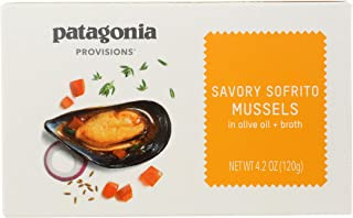 Patagonia Provisions Savory Sofrito Mussels, 120g