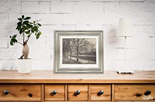 New York Map Company  c1900s Photograph ''Wells Cathedral from The Moat Path'', Antique Vintage Fine Art Photo Reproduction, Artist: Frederick H. Evans Size: 8x10 Ready to Frame