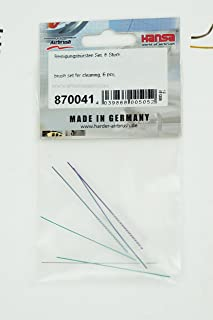 Harder and Steenbeck airbrush nozzle needle cleaning brush set 870041. by SprayGunner