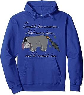 Winnie the Pooh Eeyore Could be Worse Pullover Hoodie