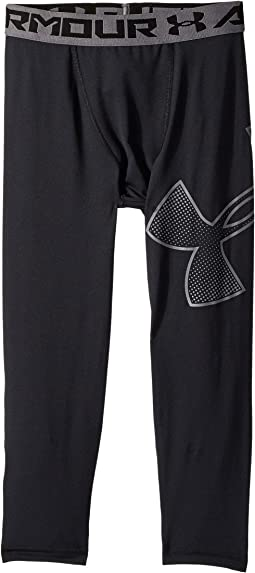 Armour 3/4 Logo Leggings (Big Kids)