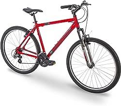 "27.5"" Royce Union RMA Mens 21-Speed All-Terrain Mountain Bike, 22"" Aluminum Frame, Trigger Shift, Red"