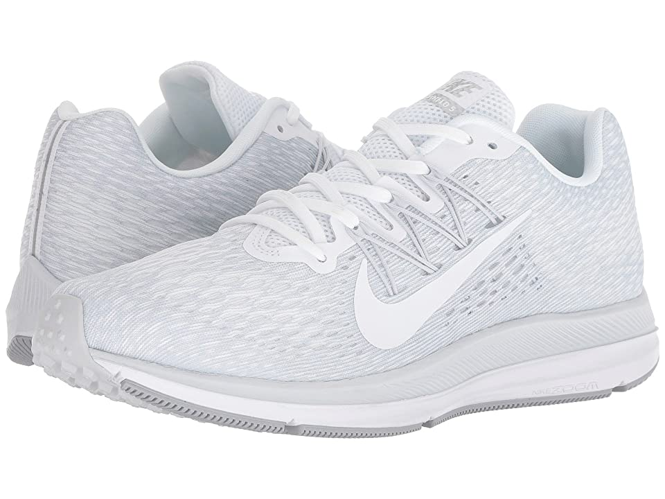 Nike Air Zoom Winflo 5 (White/White/Wolf Grey/Pure Platinum) Men