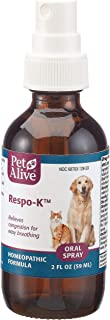 Native Remedies Respo-K Spray Homeopathic Medicine for cat colds & Dog colds, Plus Respiratory Irritation