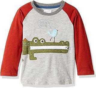 287d3695 Mud Pie Baby Boys' Toddler Safari Long Sleeve Raglan T-Shirt