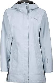 Marmot Essential Women's Lightweight Waterproof Rain Jacket, Gore-TEX with Paclite Technology, Silver
