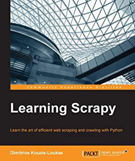 Learning Scrapy (English Edition)