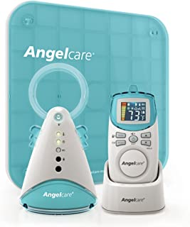 Angelcare Movement and Sound Monitor, Aqua/White