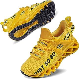 Boys Girls Sneakers Kids Running Sports Athletic Non-Slip Shoes for Little Kids/Big Kids