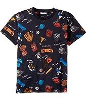Dolce & Gabbana Kids - Back to School Sports T-Shirt (Big Kids)