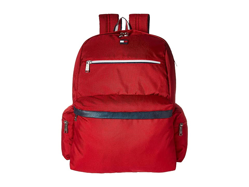 Tommy Hilfiger Lenox Hill Backpack (Red) Backpack Bags