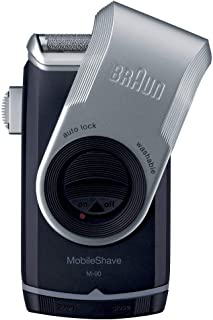 Braun M90 Mobile Shaver with Precision Trimmer