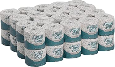 Angel Soft Professional Series Premium 2-Ply Embossed Toilet Paper by GP PRO (Georgia-Pacific), 16840, 450 Sheets Per Roll, 40 Rolls Per Case
