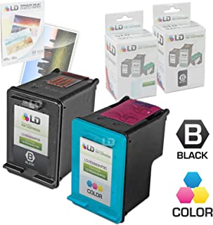 LD Remanufactured Ink Cartridge Replacements for HP 98 & HP 95 (1 Black, 1 Color, 2-Pack)