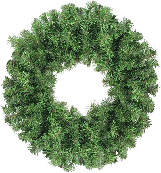 Little Valley Colorado Pine Artificial Wreath 18 Inches Perfect Christmas Fall Winter Season
