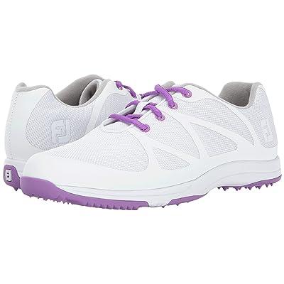 FootJoy FJ Leisure (White/Purple) Women